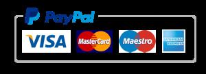 Pagar con tarjeta y Paypal